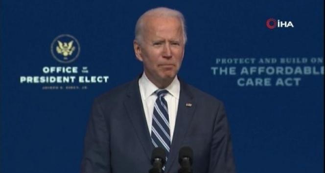 Joe Biden Seçilmiş Başkan olarak görevi devir alma çalışmalarını sürdürüyor