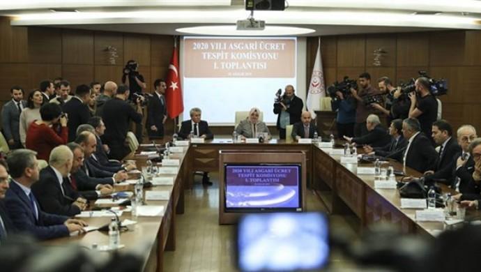 Asgari Ücret Komisyonu pazartesi son kez toplanacak