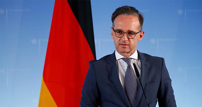 Almanya Dışişleri Bakanı Maas: