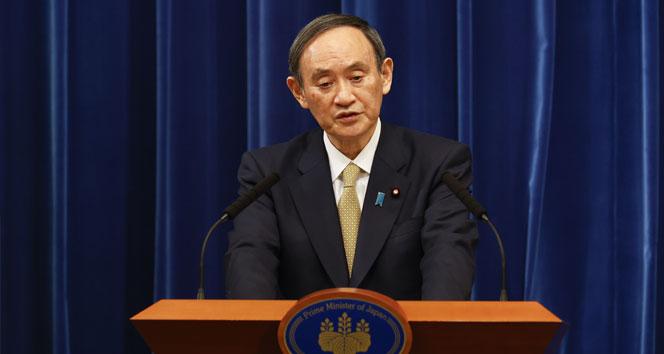 Japonya Başbakanı Yoshihide Suga'dan OHAL açıklaması