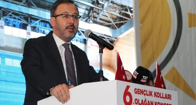 """Bakan Kasapoğlu: """"Biz sıradan bir parti değiliz"""