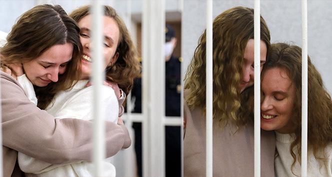 Belarus'ta protesto görüntüsü çeken gazetecilere 2 yıl hapis cezası