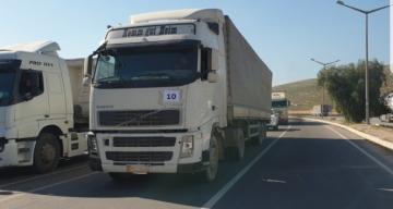 BM'den İdlib'e 81 tır insani yardım gönderildi