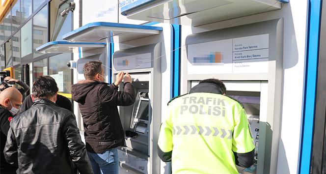 Bolu'da ruhsatsız ATM'ler mühürlendi
