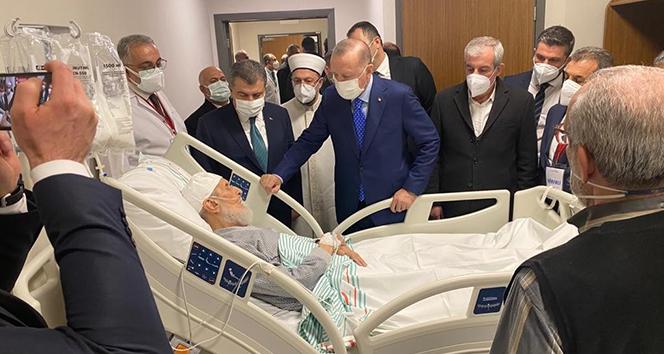 Cumhurbaşkanı Erdoğan'ın ziyaret ettiği kanaat önderi Hafız Abdullah Nazırlı hayatını kaybetti