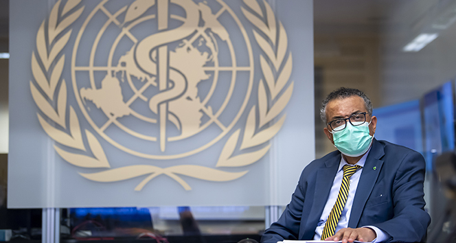 DSÖ Genel Direktörü: 'Dün kabaca her 100 dakikada bir 25 bin vaka rapor edildi'