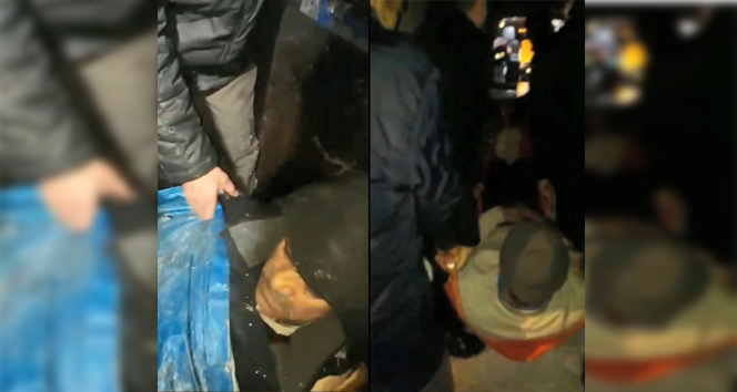 Köylüler hasta komşuları için donmayı göze aldı