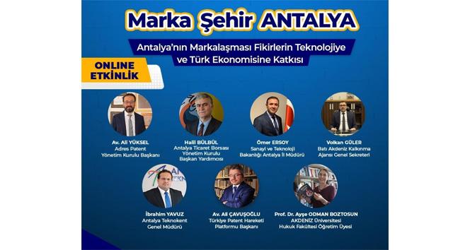Marka şehir Antalya, katma değeri üç sac ayağına yayacak