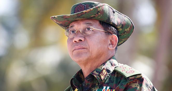 Myanmar'da darbe yapan Hlaing: 'Seçim komisyonu adil bir kampanya yürütmedi'