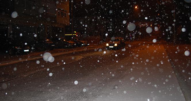 Tekirdağ'da kar yağışı