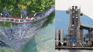 Dünyanın En Tehlikeli ve En Korkutucu Köprülerinden Geçebilir misin?