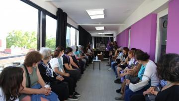 Kadınlardan HDP'ye taziye ziyareti