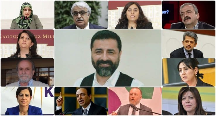 'Siyaset yasağı' istenen HDP'lilerin isimleri belli oldu