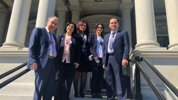 Kuzey ve Doğu Suriye Özerk Yönetimi ABD'de temaslara başladı