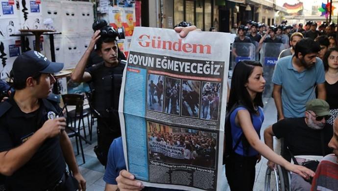 AYM Özgür Gündem'in kapatılmasını anayasaya aykırı buldu
