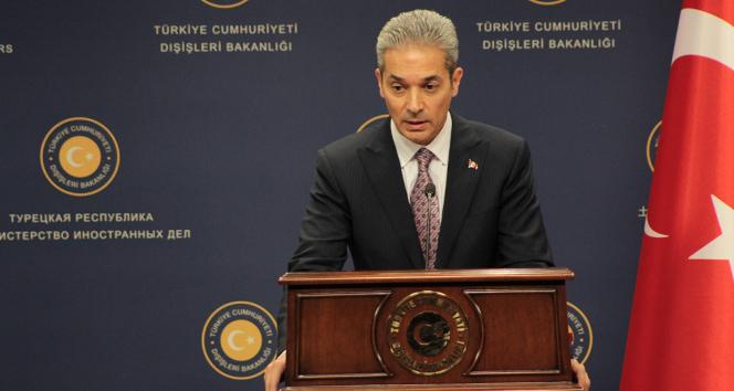 Dışişleri Bakanlığı Sözcüsü Aksoy'dan Gergarat tampon bölgesinde düzenlenen operasyon hakkında açıklama