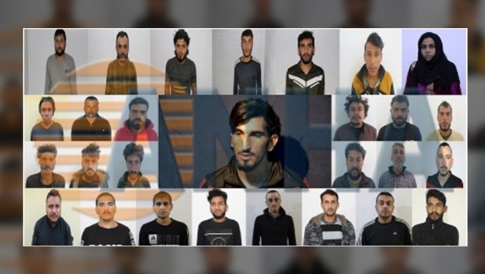 Eyn Îsa'da MİT'e çalışan hücre yapılanması yakalandı