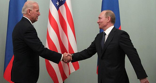 Biden, Putin ile ilk telefon görüşmesini gerçekleştirdi
