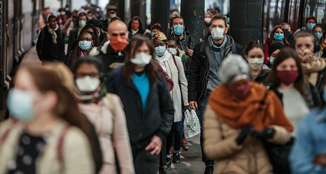 Fransa'da son 24 saatte 19 bin 814 korona virüs vakası