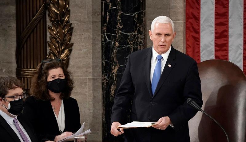 ABD Başkan Yardımcısı Pence 25'inci maddeyi işletmeyi reddetti