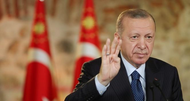 Cumhurbaşkanı Erdoğan: 'Türkiye rekor üstüne rekor kırmayı sürdürüyor'