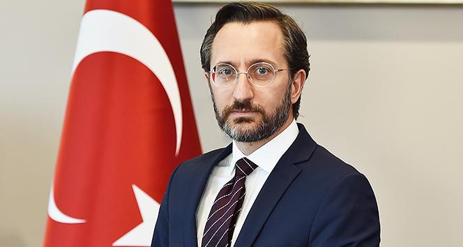 İletişim Başkanı Altun'dan sosyal medyadaki sansür uygulamalarına ilişkin açıklama