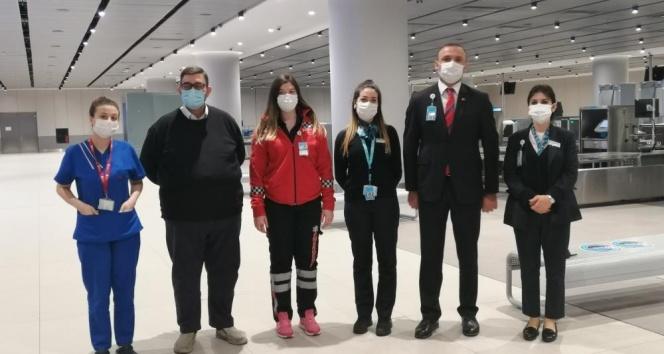 İstanbul Havalimanı'nda ilk doğuma yardım eden personel o anları anlattı