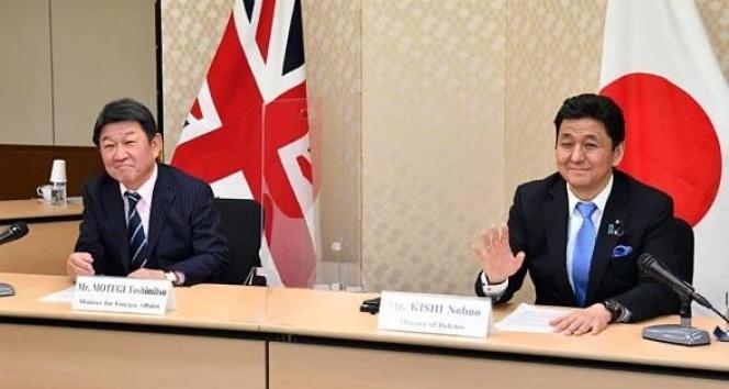 Japonya ve İngiltere'den dörtlü bakanlar zirvesi