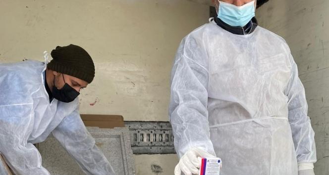Korona virüs aşıları Gazze Şeridi'ne ulaştı