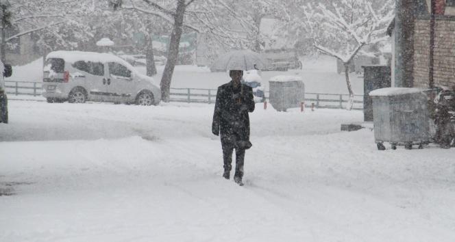 Meteorolojiden 2 il için yoğun kar yağışı uyarısı