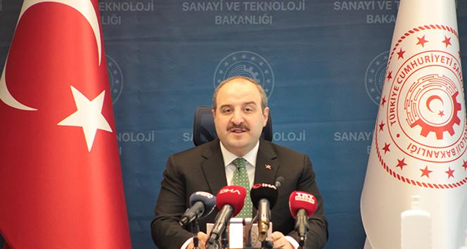 Sanayi ve Teknoloji Bakanı Varank'dan 2021 yılı yorumu