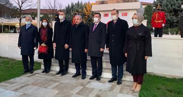 TBMM Başkanı Mustafa Şentop Arnavutluk'un İşkodra şehrini ziyaret etti