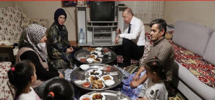 Erdoğan'ın iftara gittiği kişi bakın kim…