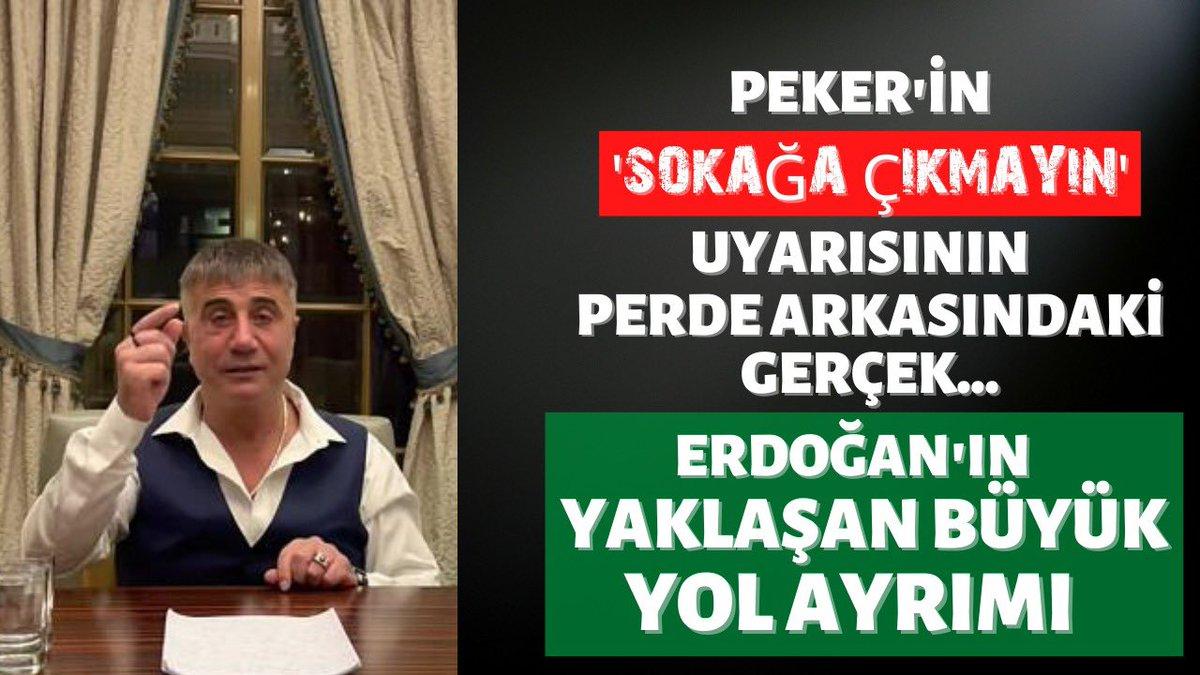 Biden-Erdoğan görüşmesi ve Sedat Peker'in 'sokağa çıkmayın' uyarısının ardında yatan gerçekler