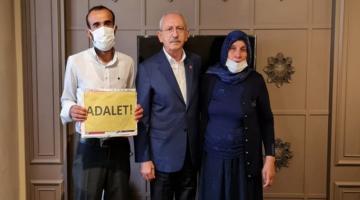 Şenyaşar ailesiyle görüşen Kılıçdaroğlu: Adalet sağlanmalı