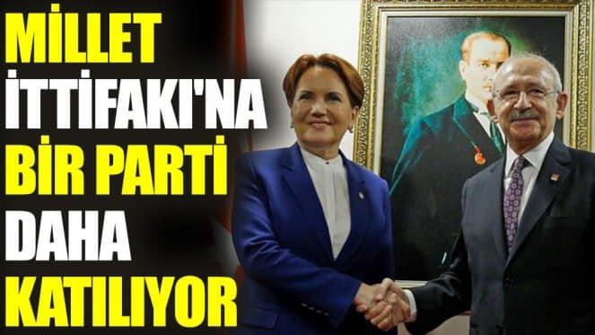 Millet İttifakı'na bir parti daha katılıyor