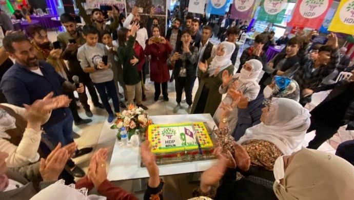 Tatvan'da HDP kutlaması