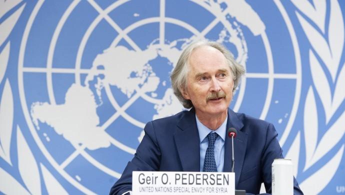Pedersen: Suriye'de yeni bir anayasa oluşturma konusunda anlaşmaya varıldı